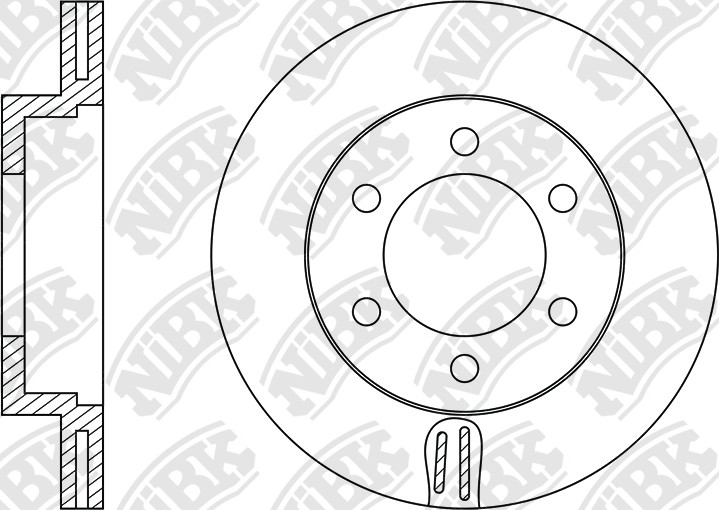 nibk brakes   application cross reference and image for